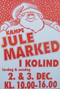 Plakat over julemarked 2017